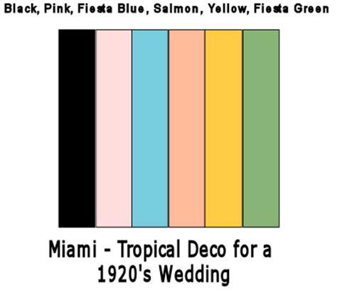 deco color palette flawlessaisle july 2013