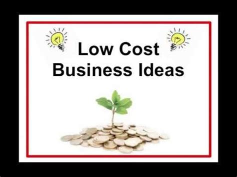 5 low cost home business ideas todays work low cost business ideas small business plan to get you