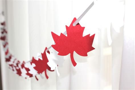 decorations canada canada day inspiration 25 diy ideas crafts printables