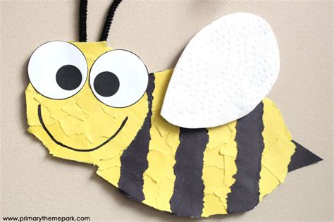 bumble bee crafts for bee craft template primary theme park