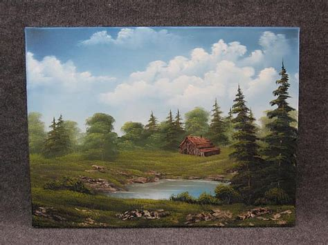 bob ross acrylic painting lesson kevin hill kevin hill