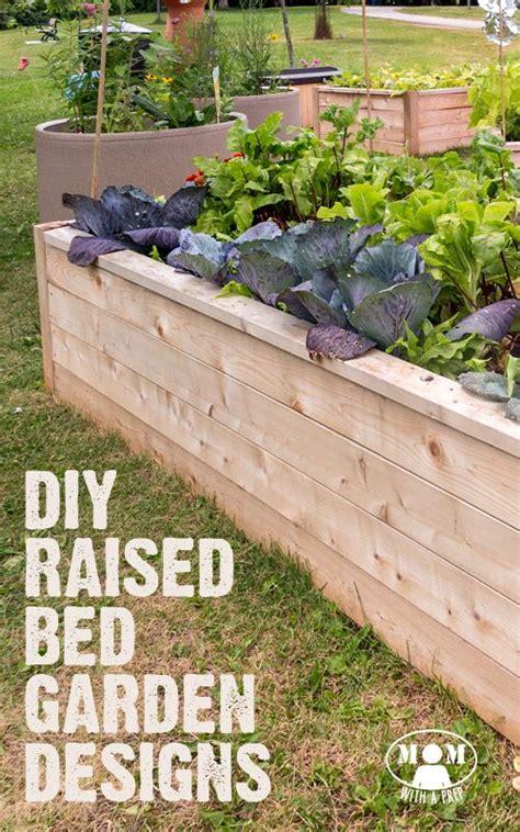 raised garden bed edging ideas 9 diy raised bed garden designs and ideas gardens