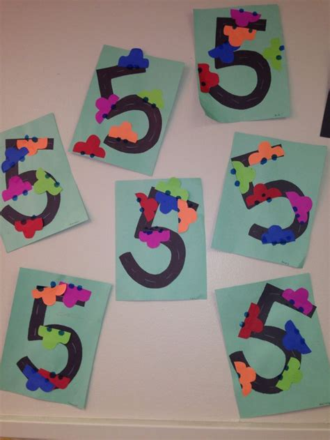 number craft for crafts actvities and worksheets for preschool toddler and