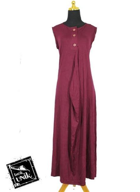 model tanpa busana baju muslim gamis wide dress kaos tanpa lengan gamis