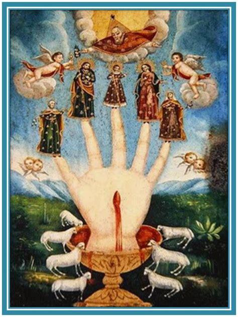Mucha Artwork by Oraciones Milagrosas Y Poderosas Mano Poderosa Oracion