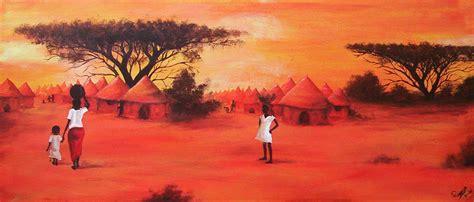 acrylic paint kenya painting by arwenevenstar16 on deviantart