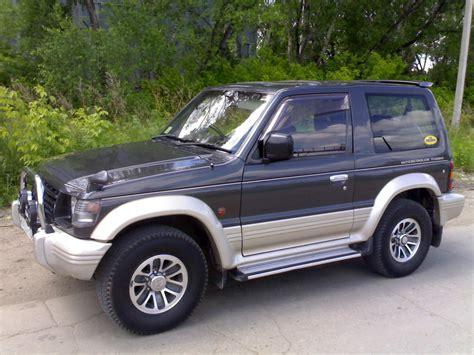 manual repair autos 1993 mitsubishi pajero engine control service manual old car manuals online 1994 mitsubishi pajero parking system service manual