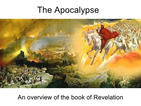 pictures of the book of revelation the apocalypse an overview of the book of revelation