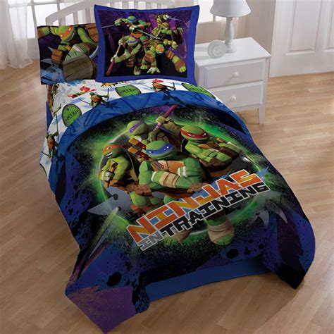 mutant turtle bed set mutant turtles 8 bed in a bag