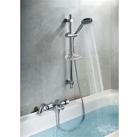 shower mixer bath taps thermostatic bath shower mixer tap deck mounted shower