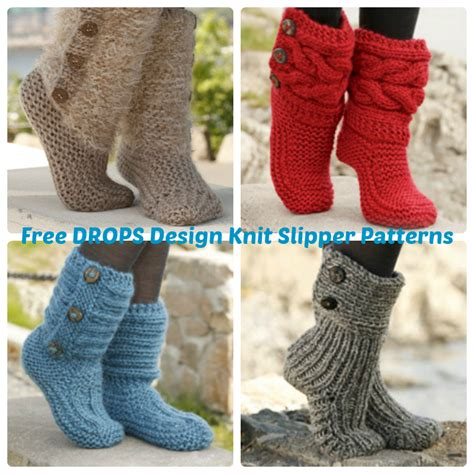 drops knitting patterns free drops design free crochet slipper patterns 187 wee folk