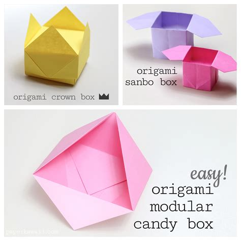simple origami boxes origami step by step images images