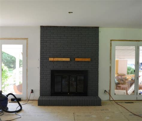 paint colors for fireplace how to paint brick fireplace in your house after paint