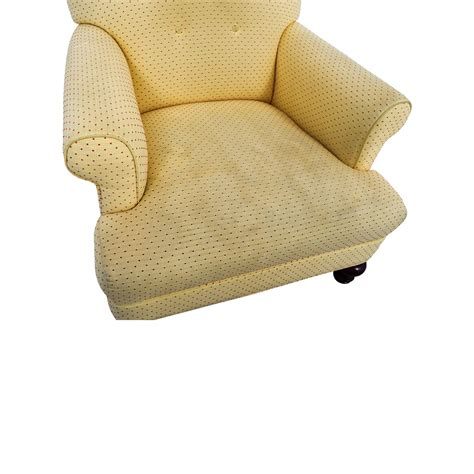yellow leather ottoman yellow leather chair with ottoman modern chair high quality