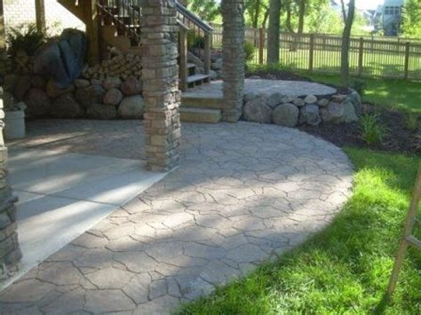 extend patio with pavers arbel paver s used to extend a concrete patio for the