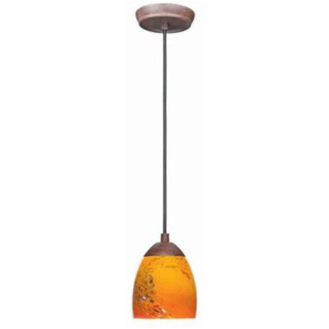 home depot pendant lights hton bay 1 light nutmeg mini pendant