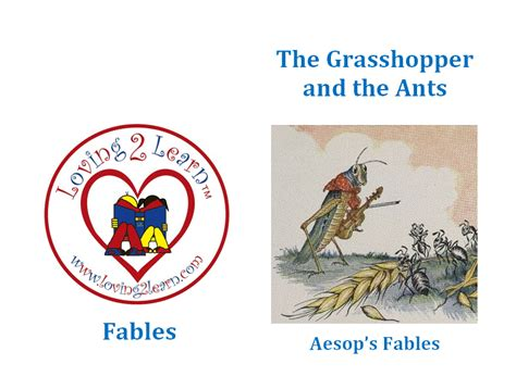 the ant and the grasshopper picture book fables printable the grasshopper and the ants and a