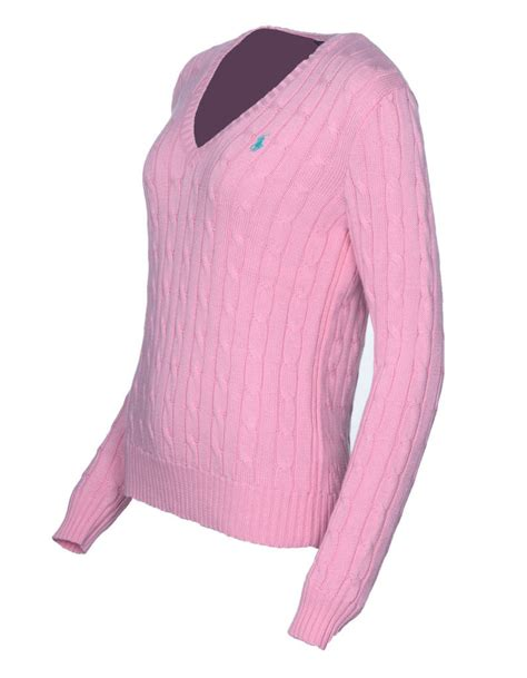 womens ralph cable knit jumper ralph s polo cable knit v neck jumper