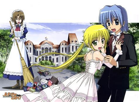 hayate no gotoku hayate no gotoku hayate the combat butler rushes into