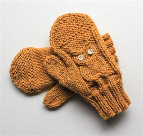 knitting gloves knitting pattern baby owl gloves mittens and fingerless