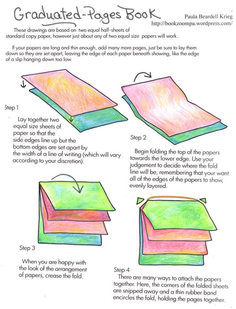 make a book with pictures simple book binding playful bookbinding and paper works