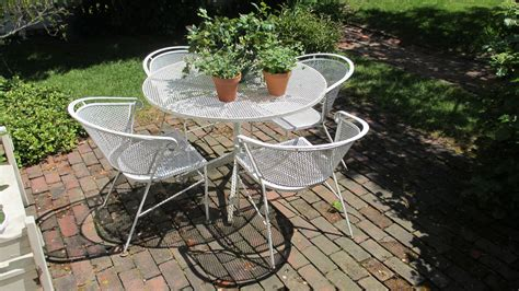 antique patio chairs authentic salterini vintage iron patio table and chairs