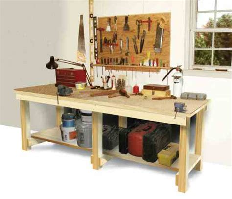 how to build a woodworking workbench how to build a workbench diy earth news