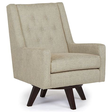 barrel swivel chairs upholstered best home furnishings chairs swivel barrel kale swivel
