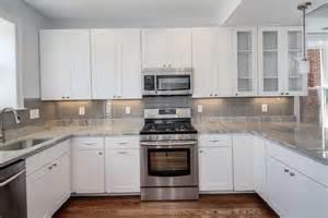 kitchen backsplash white cabinets kitchen tile backsplash pictures white cabinets home