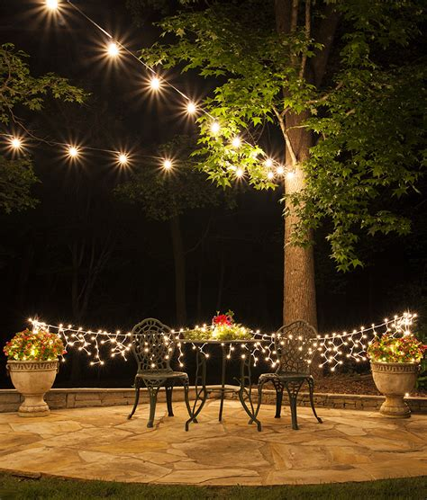 patio outdoor lights how to plan and hang patio lights