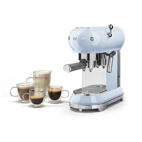 Home Design 3d Steam espresso coffee machine ecf01pbeu smeg com