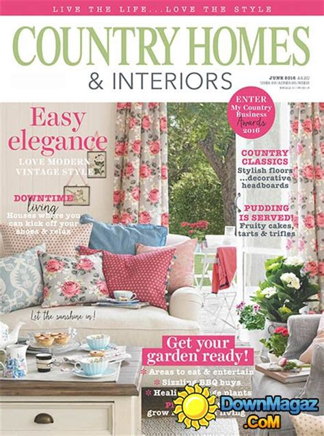 country homes and interiors magazine country homes interiors june 2016 187 pdf
