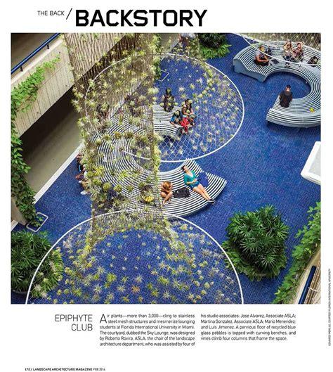 landscape architecture magazine courtyard published in landscape architecture magazine