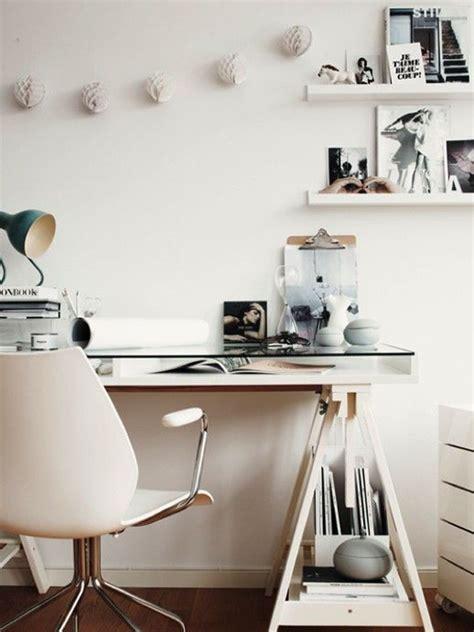 glass desks for home office 20 feminine glass desks for modern workspaces house