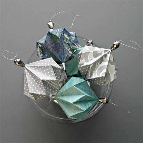 make origami decorations all things paper origami ornament techniques tips for