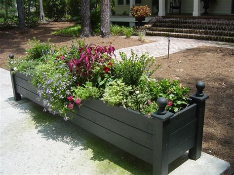 large planter boxes 1000 ideas about large planter boxes on large