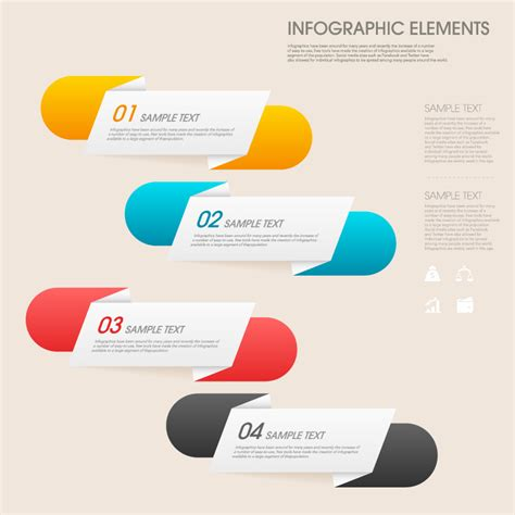 infographic pills fold vector free vector graphic download