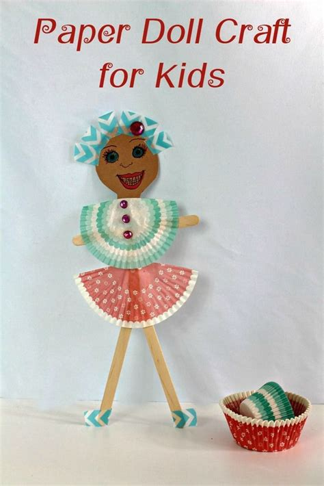 paper doll crafts for diy paper doll craft for crafts paper and kid