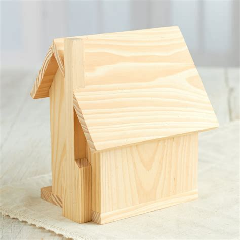 unfinished wood unfinished wood house wood craft kits