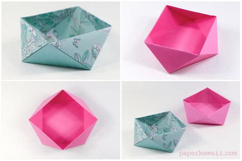 origami for traditional origami square bowl box