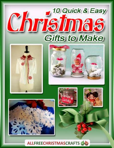 craft gifts for to make 10 and easy gifts to make free ebook