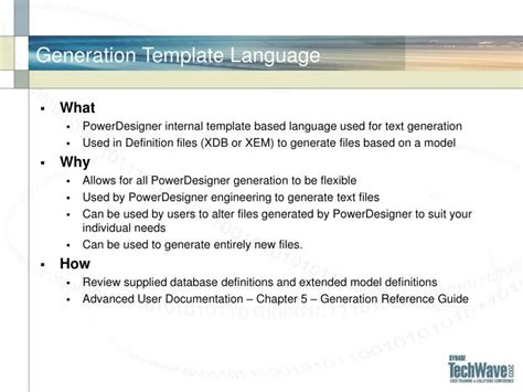 ppt pdr605 powerdesigner tips tricks and