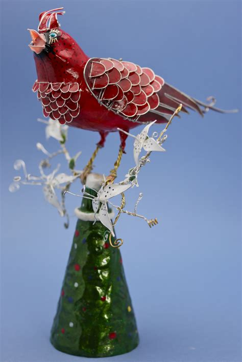 bird tree topper cardinal tree topper by stillifewithshadow on deviantart