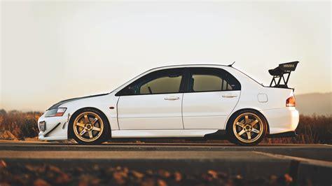 Car Evolution Wallpaper car evolution tuning mitsubishi lancer evo white cars
