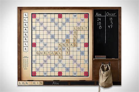 Wall Scrabble Uncrate