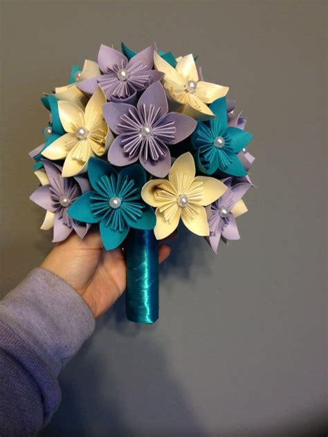 origami kusudama flower bouquet kusudama paper flower bouquet wedding flowers home decor