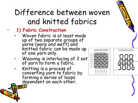 characteristics of knitted fabrics knitted fabrics difference between woven and knitted