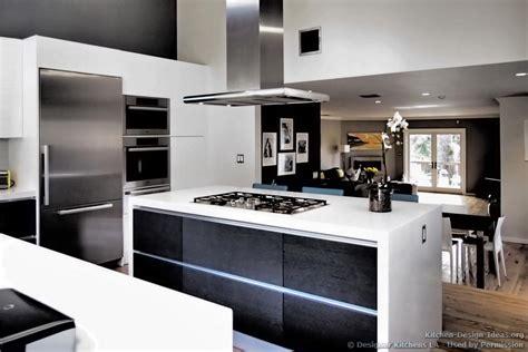 modern black and white kitchen designs designer kitchens la pictures of kitchen remodels