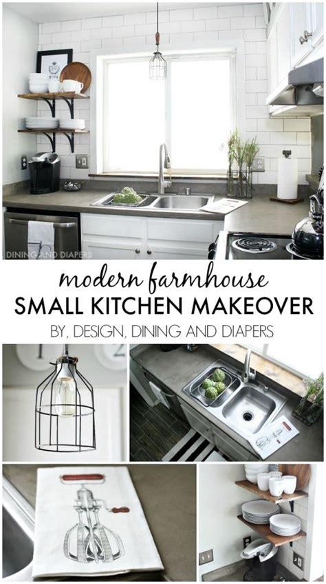 small kitchen makeover modern farmhouse small kitchen remodel design dining