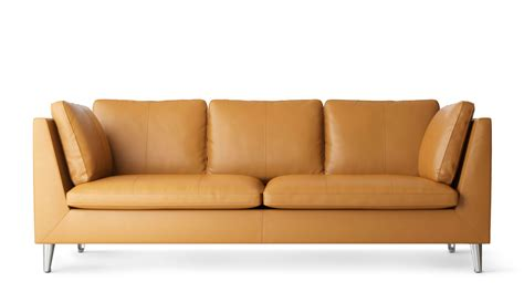 ikea sofa leather 3 seater leather sofa ikea